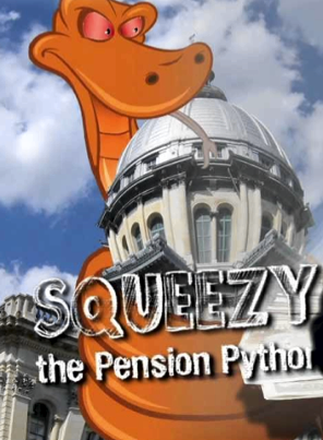 Squeezy the Snake Reboot Illinois Pension reform